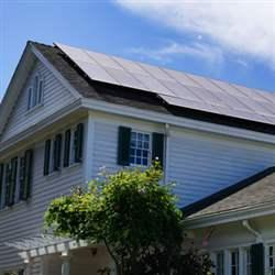 Massachusetts Home Saving Energy on Community Solar Power