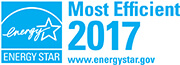 Energy star recognition for most efficient 2017